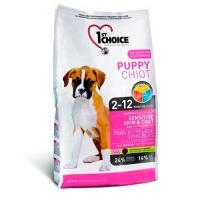 1ST CHOICE Puppy Sensitive Skin & Coat фото в интернет-магазине ZooVsem.by