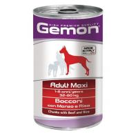 Gemon Dog Maxi Adult Beef/Rice 1250 г фото в интернет-магазине ZooVsem.by