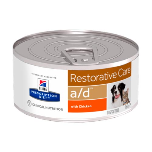 Hill's Prescription Diet Canine a/d Restorative Care 156 г фото в интернет-магазине ZooVsem.by