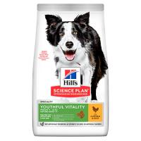 Hill's Science Plan Canine Mature Adult 7+ Youthful Vitality Medium Chicken фото в интернет-магазине ZooVsem.by