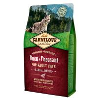 Carnilove Duck & Pheasant for Adult Cats Hairball Control (утка, фазан) фото в интернет-магазине ZooVsem.by