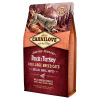 Carnilove Duck & Turkey for Large Breed Cats (утка и индейка) фото в интернет-магазине ZooVsem.by