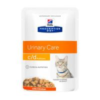 Hill's Prescription Diet c/d Multicare Urinary Care Chicken 85 г фото в интернет-магазине ZooVsem.by